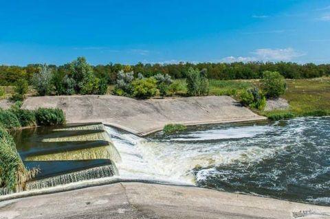 Водообмін Краснопавлівського водосховища – початок подачі води.